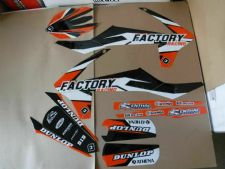 New KTM EXC EXCF XCW 125 200 250 300 450 17 18 19 Flu PTS4 Graphics Sticker Kit